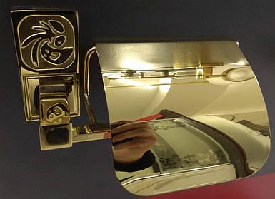 Тримач туалетного паперу  8206 (gold plating)
