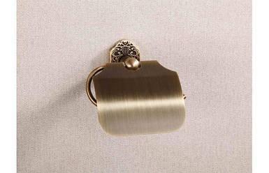 Тримач туалетного паперу 8606 (antik brass )