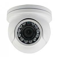 Видеокамера купольная наружная lux 4138 ssa, разрешение 720 твл, подсветка для ночной видеосъемки, 60*57 мм