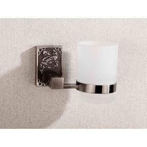 Стакан підвісний скляний  8502 (antik black)