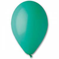 """Воздушные шары Gemar 10""""/13 пастель Темно-зеленый, 100 шт (G90)"""
