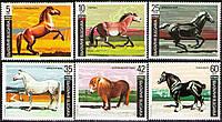 Болгарія 1991 коні - MNH XF