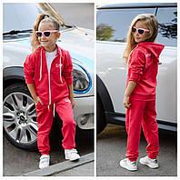 """Детский трикотажный спортивный костюм """"EA7"""" с карманами и капюшоном (2 цвета)"""