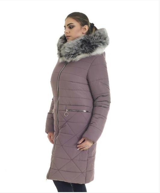 7e99777a3ee5f Пуховик зимний женский с мехом песец большого размера недорого в Украине  интернет-магазин р.