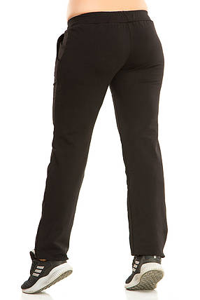 Женские спортивные штаны 5431 черные, фото 2