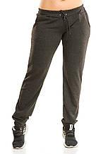 Женские спортивные штаны 5431 темно-серые