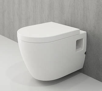 Унітаз підвісний білий BOCCHI PARMA S