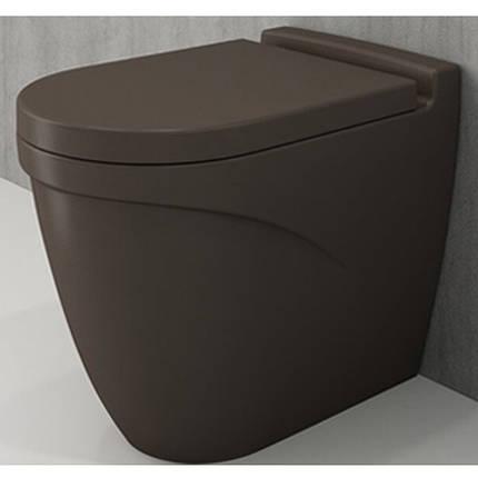 Унітаз підлоговий BOCCHI TAORMINA ARCH коричневий матовий, фото 2