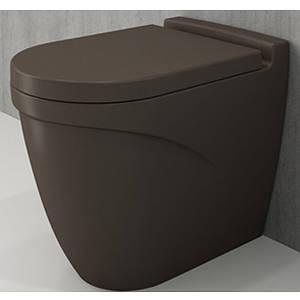 Унітаз підлоговий BOCCHI TAORMINA ARCH коричневий матовий