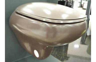 Унітаз підвісний BOCCHI FENICE коричневий