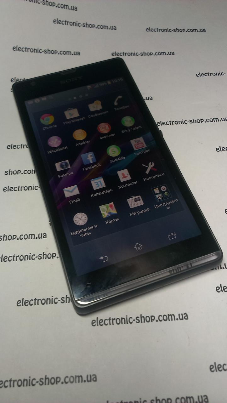 Смартфон Sony Xperia SP c5303 Black б.у