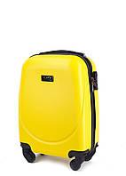 Чемодан Wings Gravitt 310 XS на 4 колесах желтый