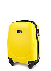 Валіза Wings Gravitt 310 XS на 4 колесах жовтий