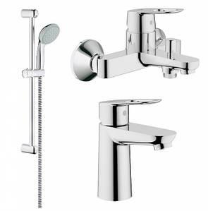 Набір змішувачів для ванни GROHE BauLoop 123214