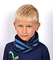 Хомут Полоска. От 4 лет. Джинс,голубой, т.зеленый,т.серый. Бордо комплектом код 090., фото 1