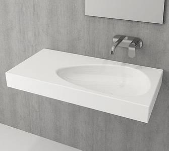 Умивальник BOCCHI ETNA Vanity Washbasin 90х45  білий глянцевий