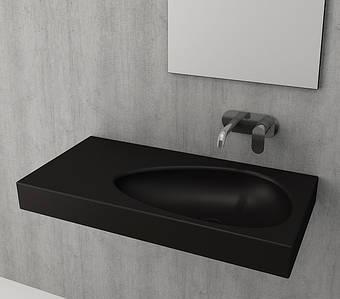 Умивальник BOCCHI ETNA Vanity Washbasin 90х45  чорний глянцевий