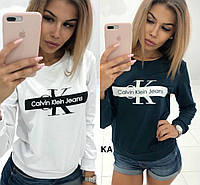 "Женская кофта ""Calvin Klein"" кельвин кляйн (свитер , свитшот ) реплика"