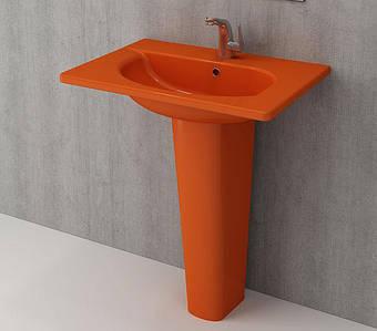 Умивальник BOCCHI TAORMINA Pro Vanity Basin 66,5x49 оранжевий