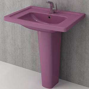 Умивальник BOCCHI TAORMINA Pro Vanity Basin 66,5x49 фіолетовий