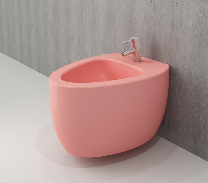 Біде підвісне BOCCHI ETNA рожевий