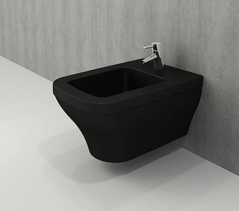 Біде BOCCHI SCALA ARCH чорний матовий 1125-004-0120, фото 2