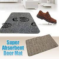 Супервпитывающий придверный коврик Clean Step Mat, коврик в прихожую, подстилка под дверь , фото 1