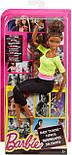 Кукла Барби Безграничные движения Афроамериканка, Barbie Made to Move Yellow Top, фото 5