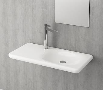 Умивальник BOCCHI FENICE Vanity Washbasin 90х45 білий глянцевий, Новое