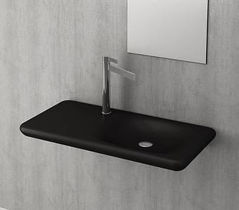 Умивальник BOCCHI FENICE Vanity Washbasin 90х45 чорний матовий