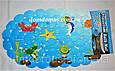 """Коврик детский для ванной антискользящий  на присосках  """"Ракушка"""", фото 3"""