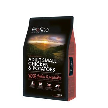 Profine Adult Small 2 кг курица, курица и картофель для взрослых собак маленьких пород