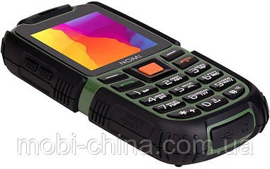 Телефон Nomi i242 X-treme Black-Green