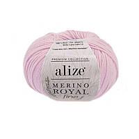 Alize Merino Royal Fine - 31 светло розовый