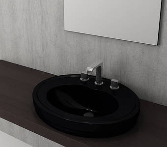 Умивальник BOCCHI LORETO Semi Recessed Counter Top Washbasin