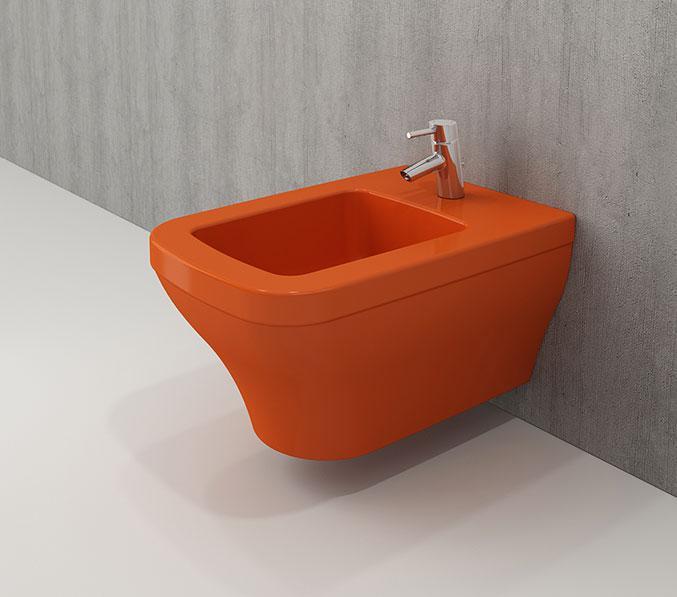 Біде підвісне BOCCHI SCALA ARCH оранжевий