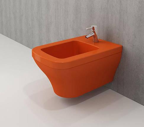 Біде підвісне BOCCHI SCALA ARCH оранжевий, фото 2