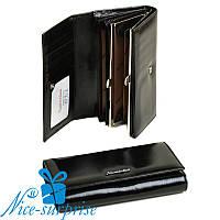 Женский кошелёк из кожи Alessandro Paoli W34-1 black (серия ITA), фото 1