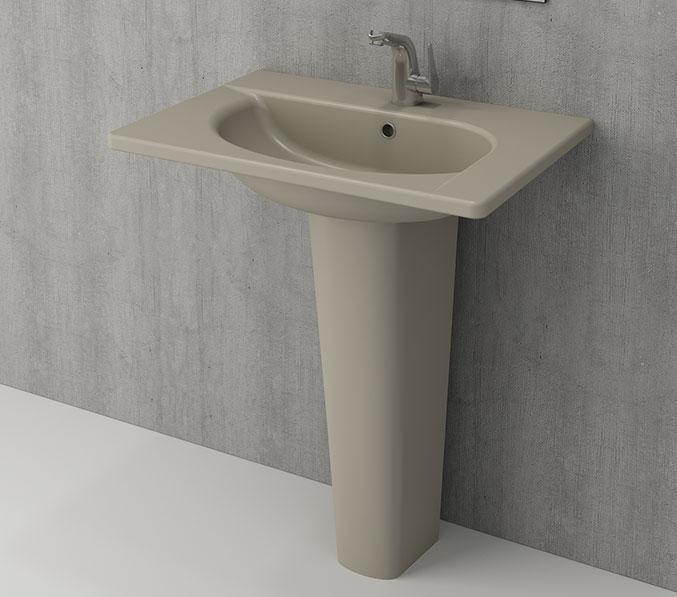 Умивальник BOCCHI Arch Vanity Basin 65x45 кашемір матовий