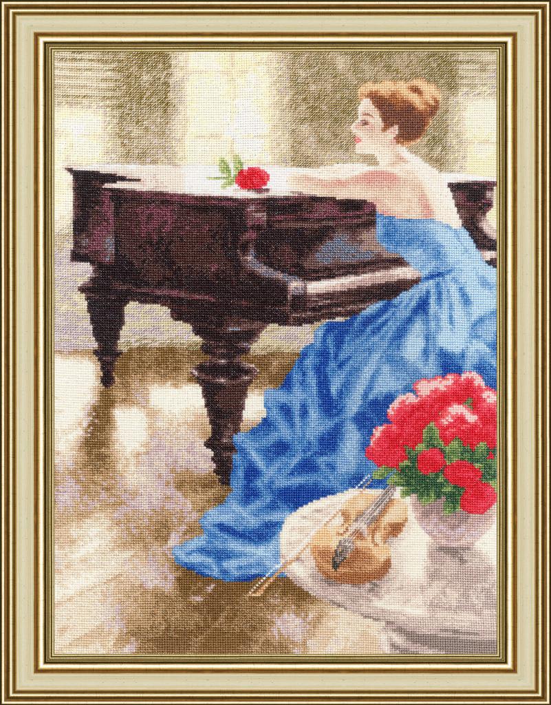 Набор для вышивки крестом Золотое Руно ЧМ-064 «Мелодия утра»