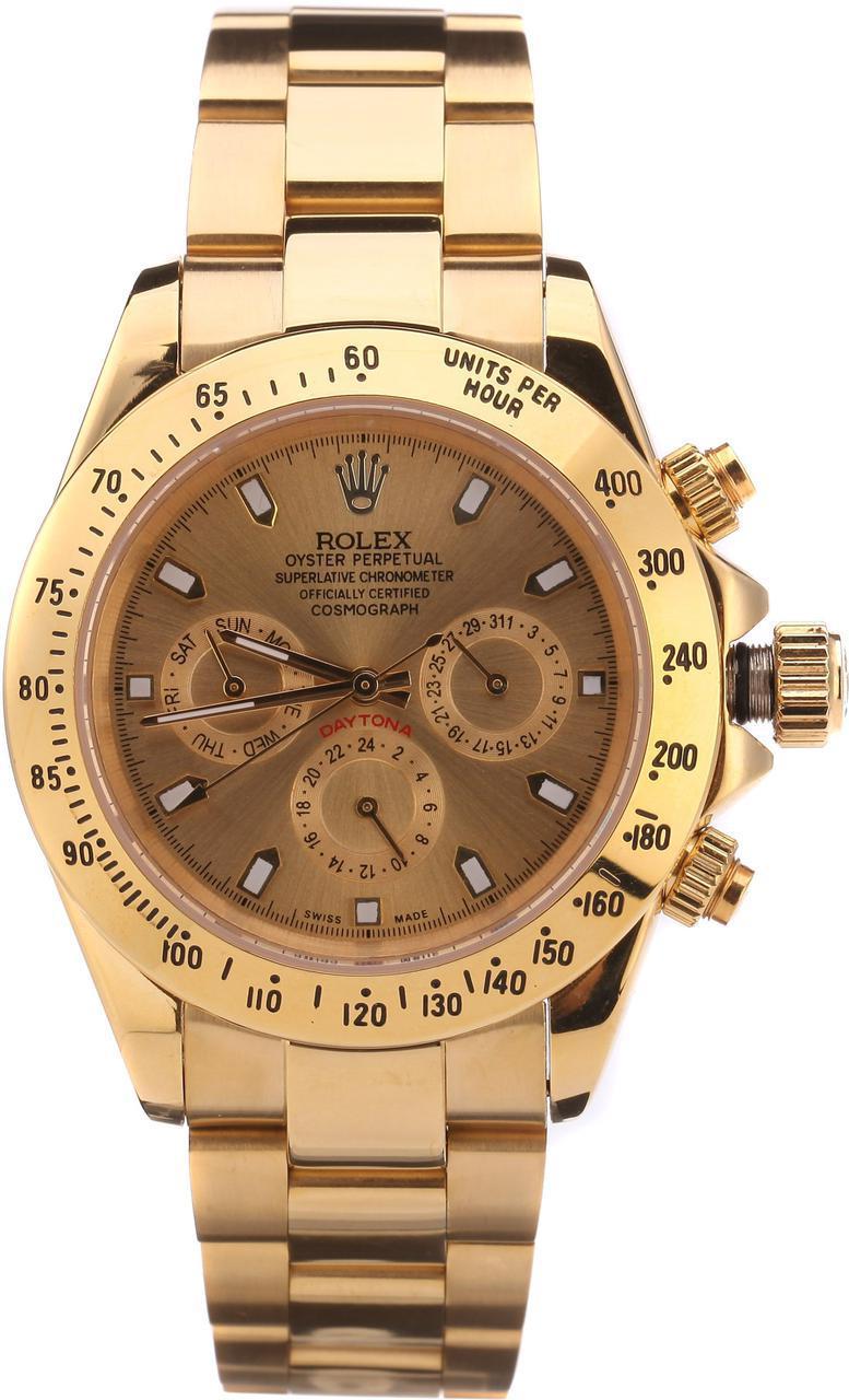 Часы наручные Rolex Daytona (Gold) кварцевые d39b8319c5c2d