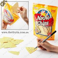 """Листки для записей в виде чипсов - """"Nacho Chips"""" - 92 шт."""