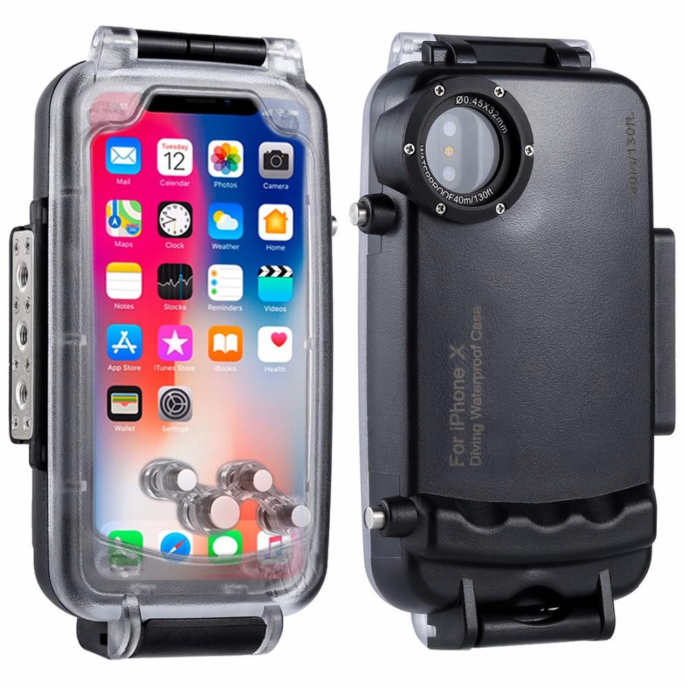 Подводный бокс Haweel HWL-2505B для Apple iPhone X / XS - Black