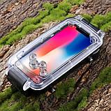 Подводный бокс Haweel HWL-2505B для Apple iPhone X / XS - Black, фото 3