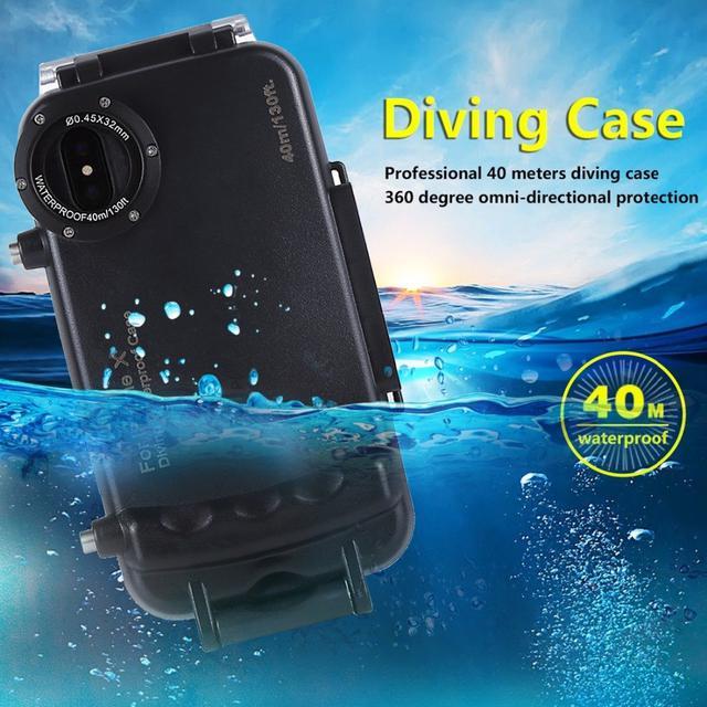 Подводный чехол iPhone X