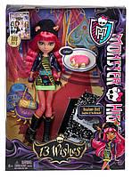Кукла Монстер Хай Ховлин Вульф Маттел Mattel Monster High 13 Wishes Howleen Wolf., фото 1