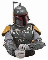Копилка-Бюст Warner Bros Боба Фетт Звёздные войны Bust-Money box Boba Fett 3D Star Wars BL24