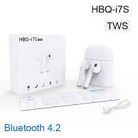 Беспроводные bluetooth наушники i7S TWS, наушники AIRPODS, наушники iPhone