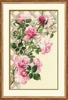 Набор для вышивки крестом Риолис 898 «Розовые розы»