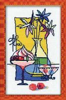 Набор для вышивки крестом Риолис 910 «Малиновый десерт»